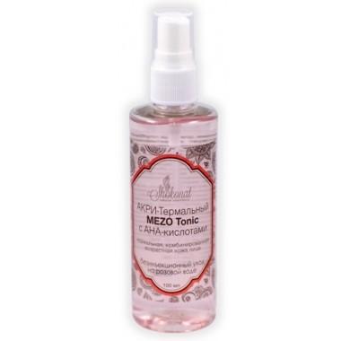 АКРИ-Термальный MEZO Tonic с АНА-кислотами для нормальной, комбинированной кожи лица. Безинъекционный уход на розовой воде Шоконат