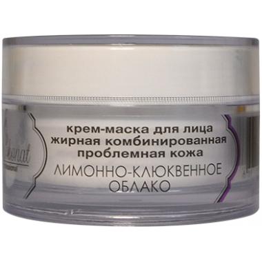 """Крем-маска для лица """"ЛИМОННО-КЛЮКВЕННАЯ"""" для жирной, комбинированной, проблемной кожи Шоконат"""